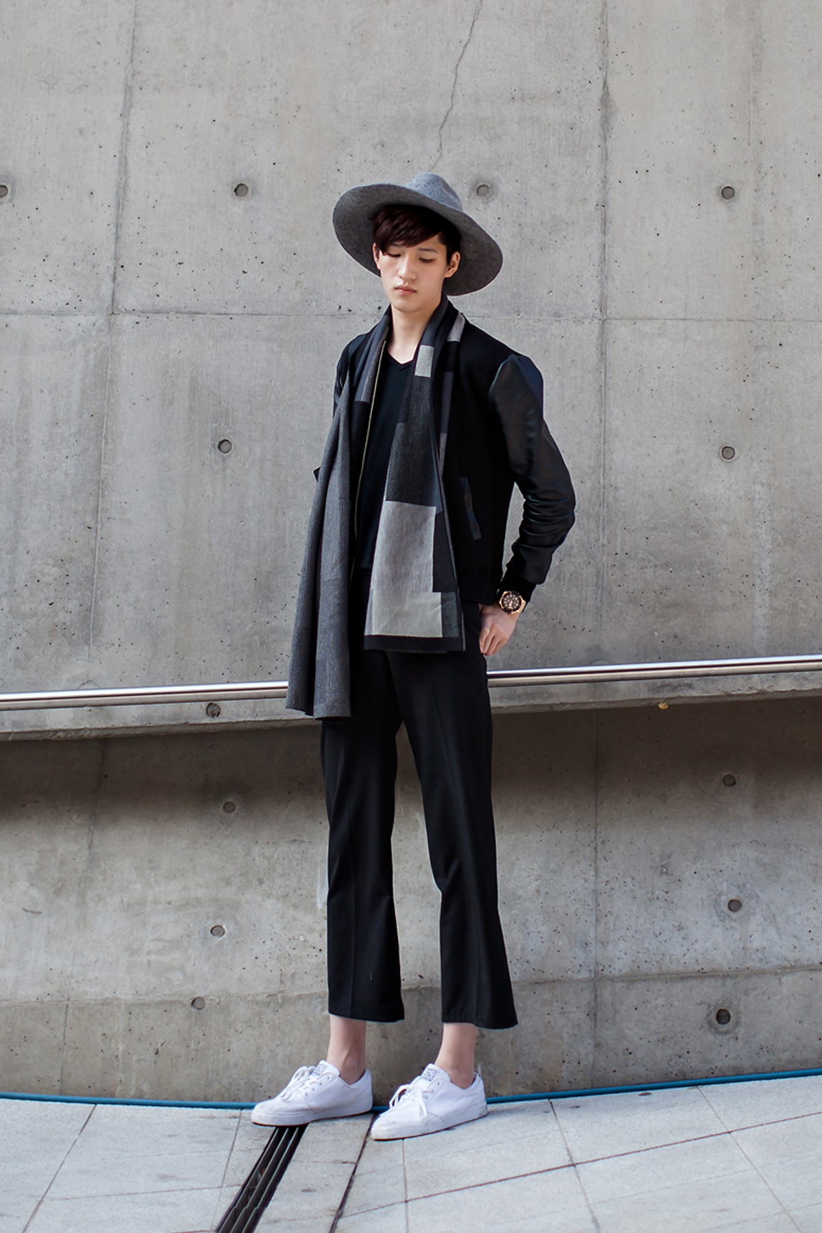On the street… Choi Eunseok Seoul fashion week 2016 SS