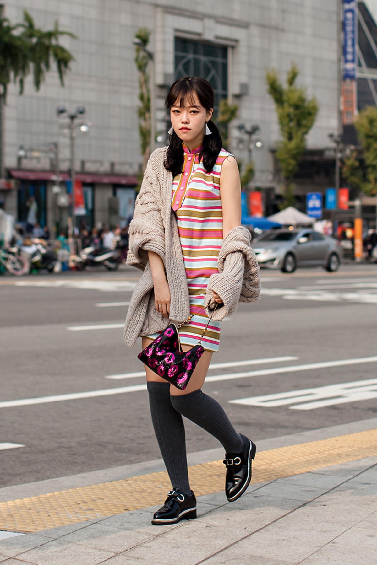 On the street… Im Heena Seoul fashion week 2016 SS
