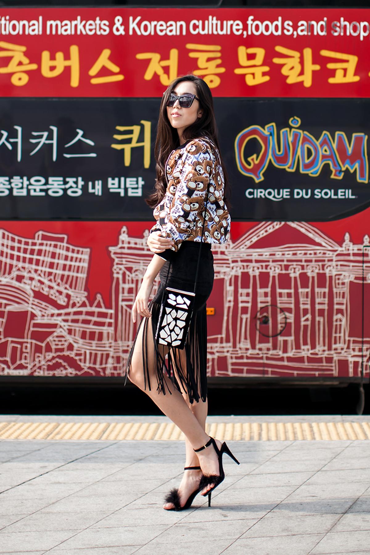On the street… Jenny Seoul fashion week 2016 SS