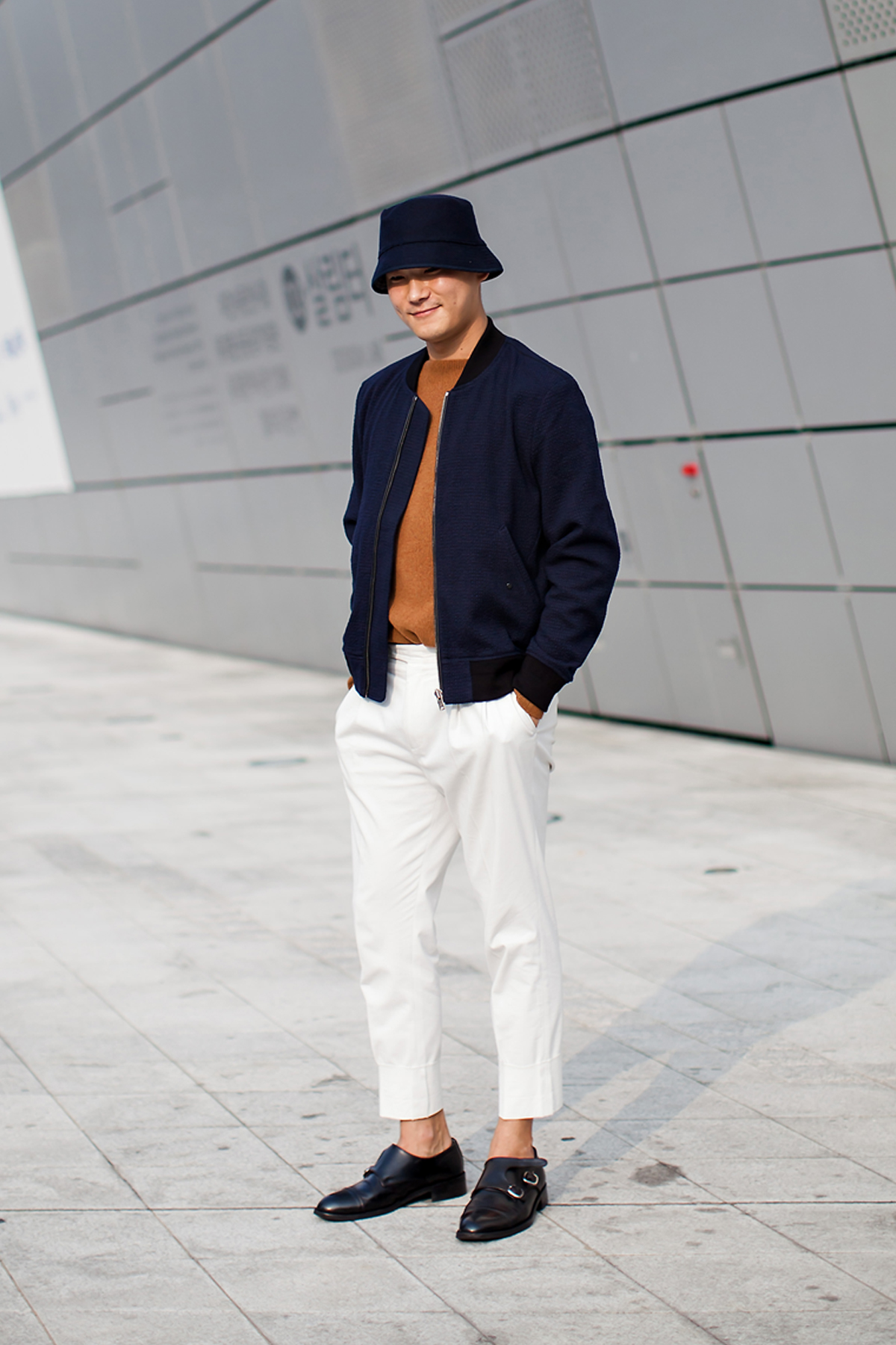 On the street… Jeon Seungkyu Seoul fashion week 2016 SS