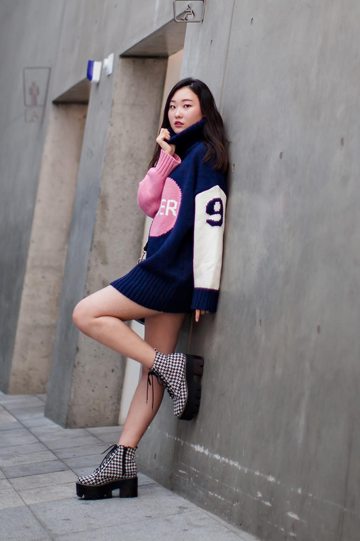 On the street… Jung Daye Seoul fashion week 2016 SS