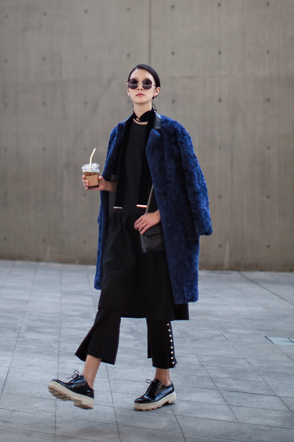 On the street… Kang Soyoung Seoul fashion week 2016 SS