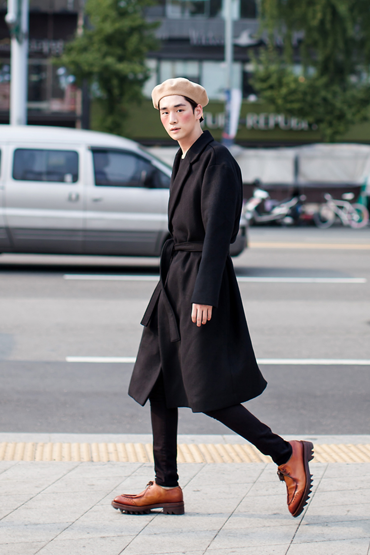 On the street… Kim Kibum Seoul fashion week 2016 SS