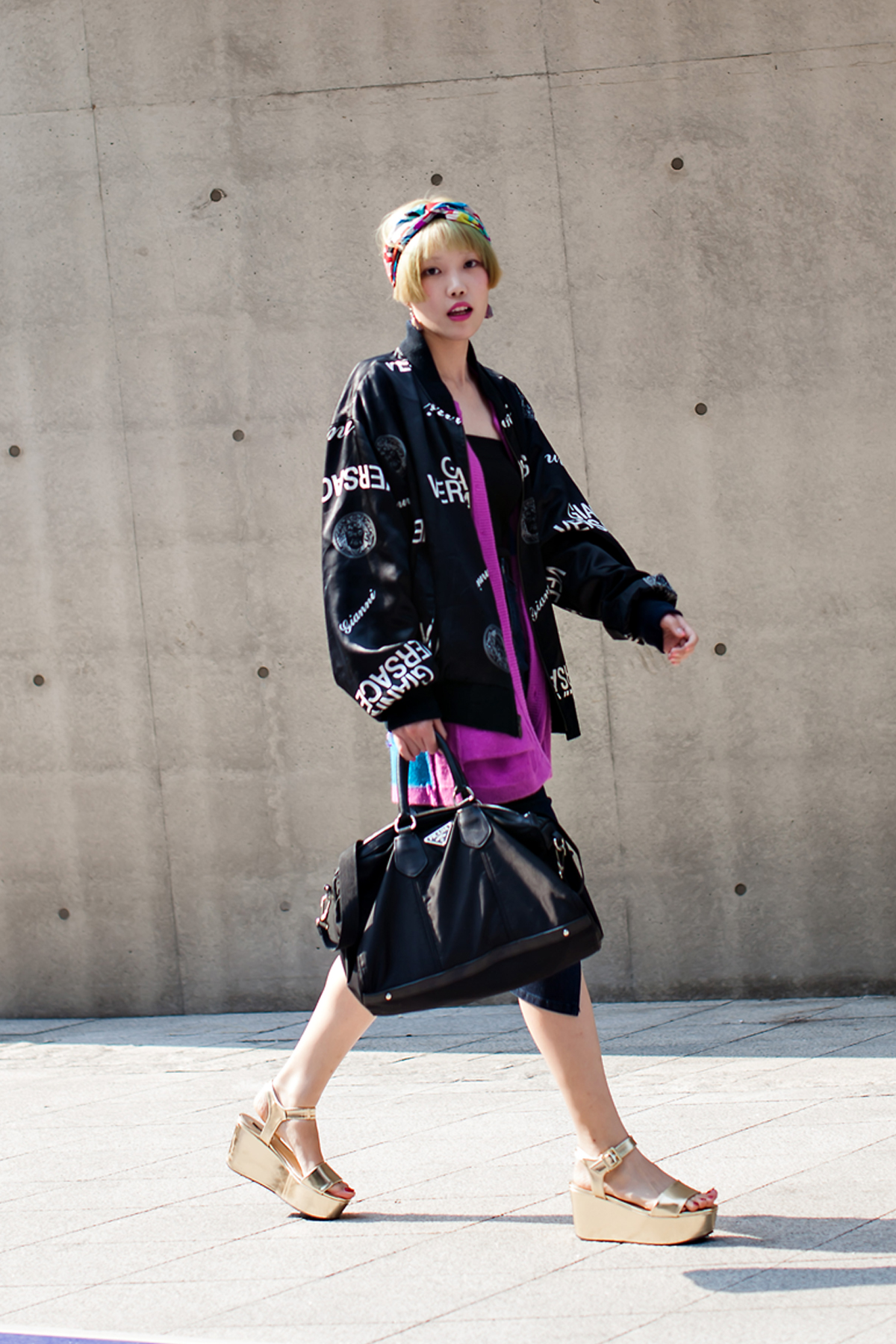 ON THE STREET… Kim Soyeon SEOUL FASHION WEEK 2016 SS