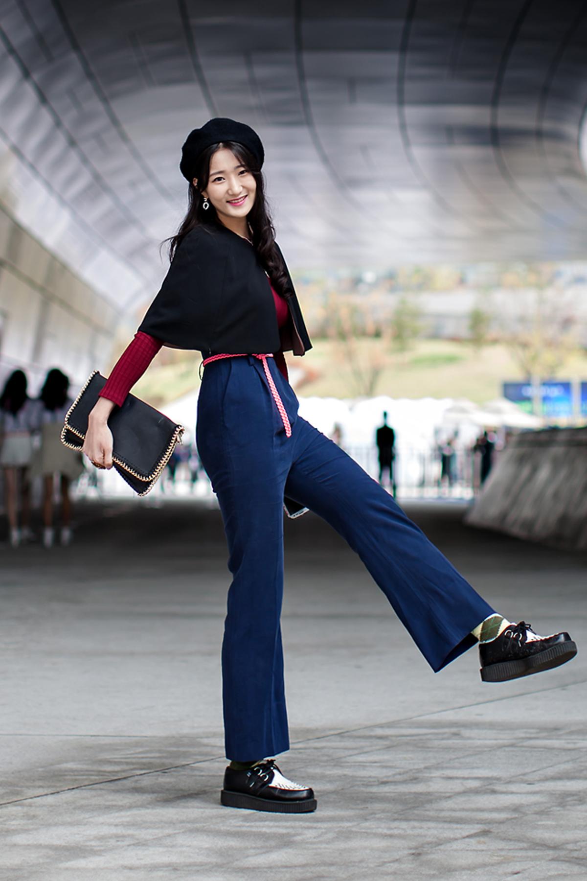 On the street… Lee Youngjae Seoul fashion week 2016 SS
