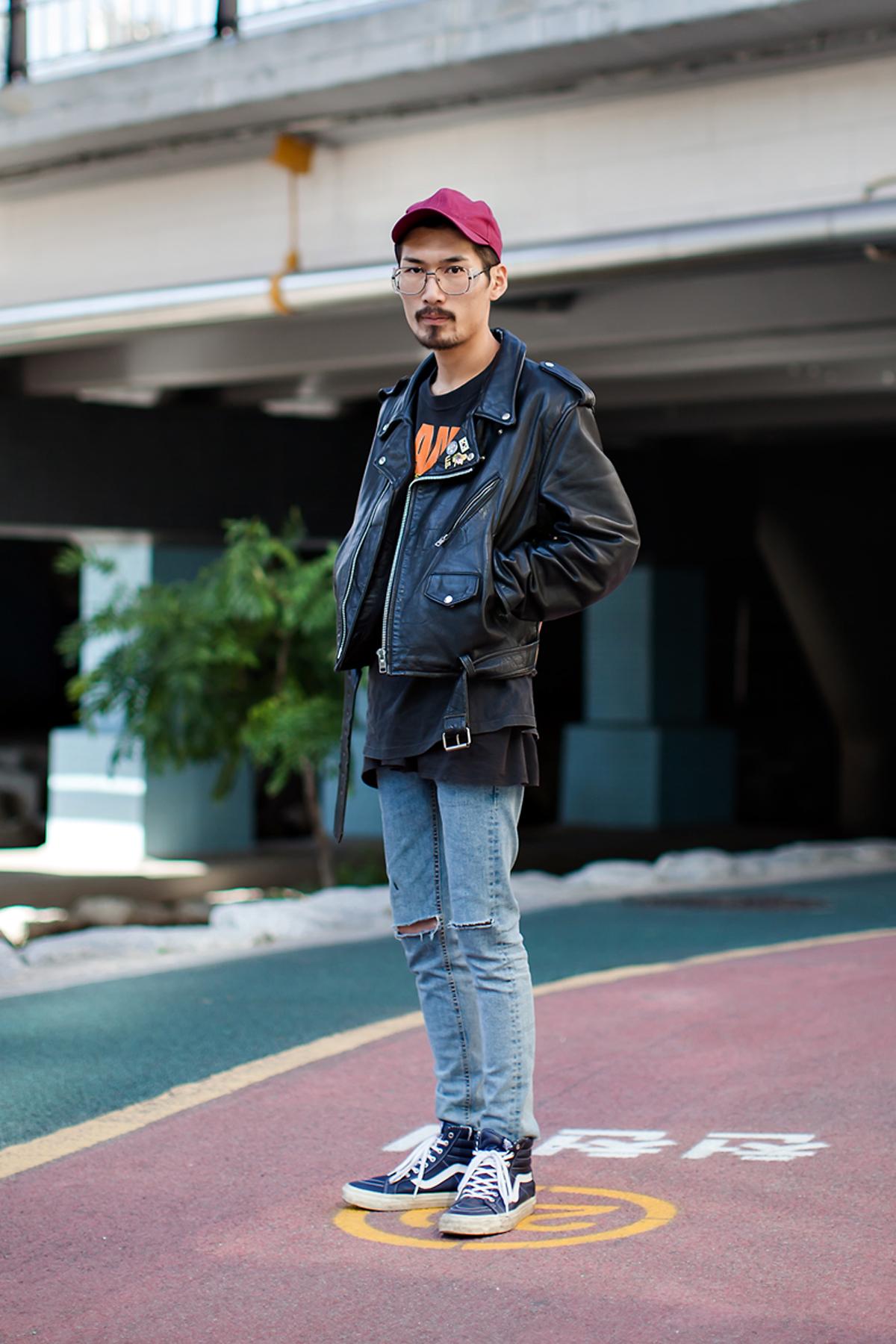 On the street… Min Kyungseok Busan