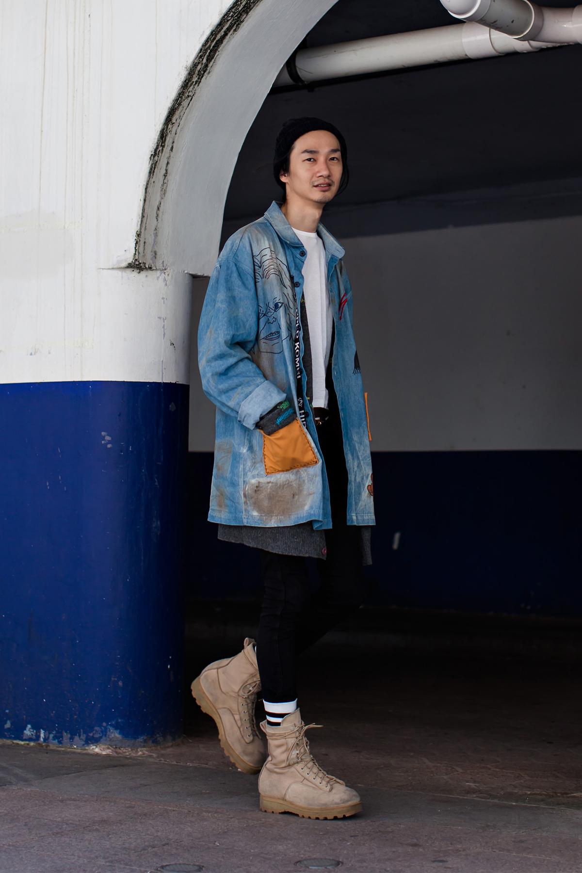 On the street… No Woosang Busan