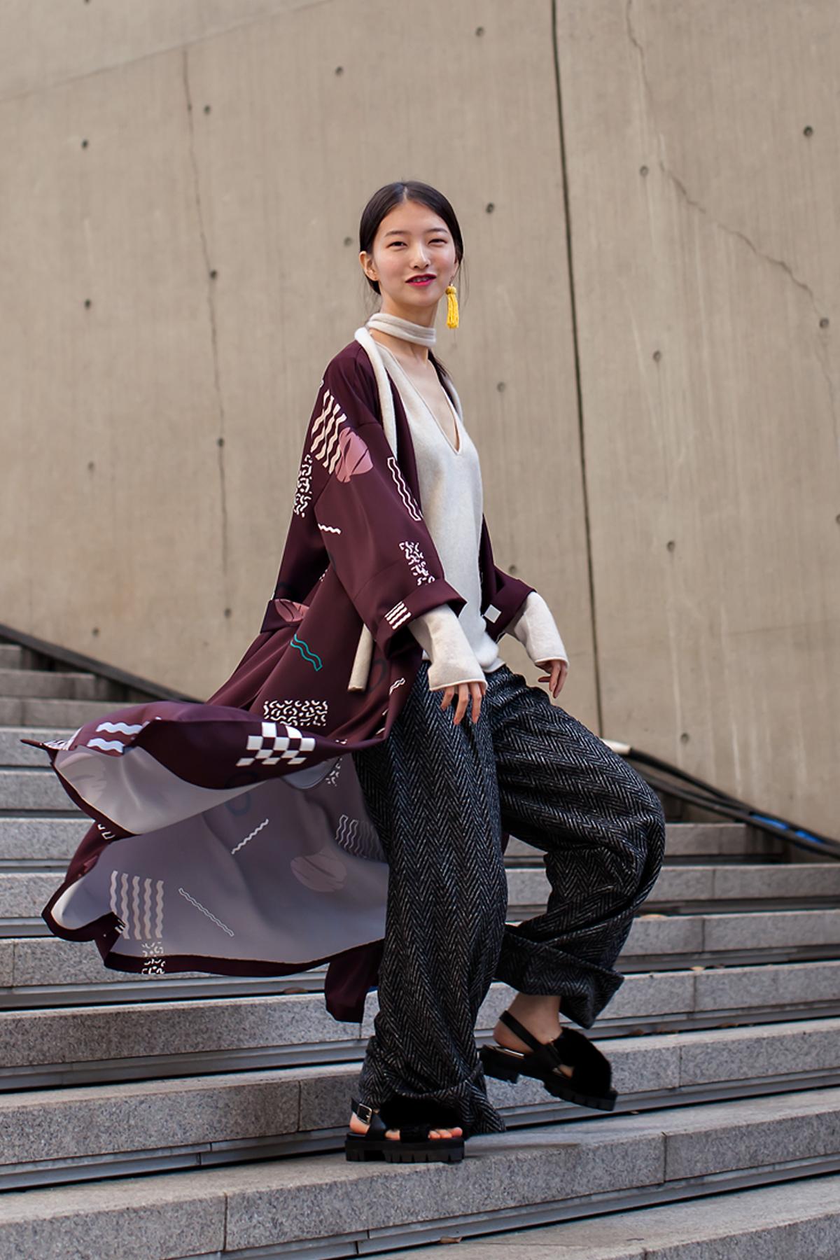 On the street… Oh Kyungok Seoul fashion week 2016 SS