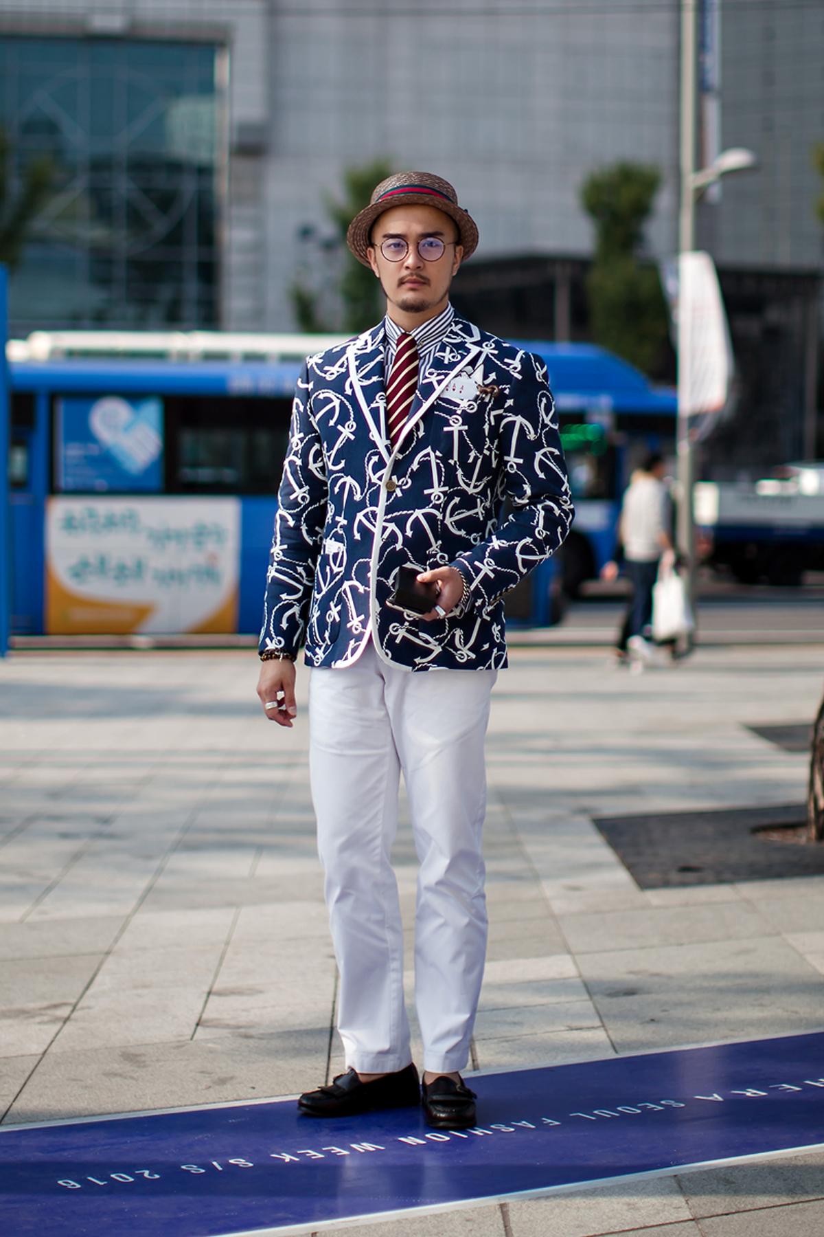 On the street… Ryu Hwanhee Seoul fashion week 2016 SS