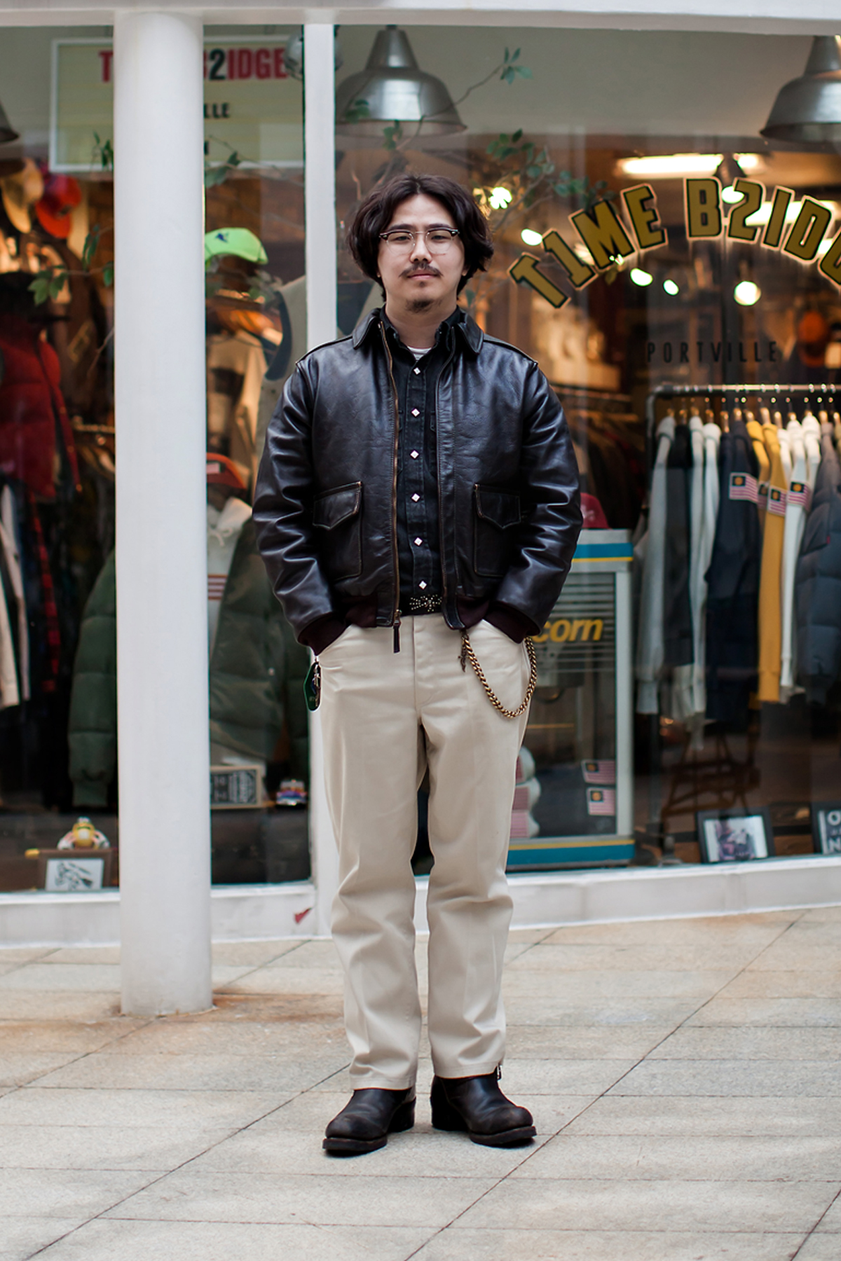 On the street… Cho Chanwoong Busan