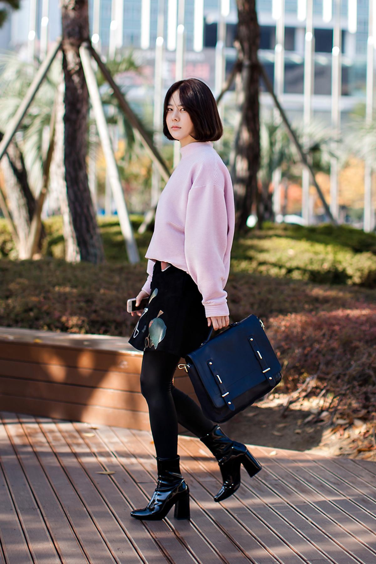 On the street… Cho Hyunji Busan
