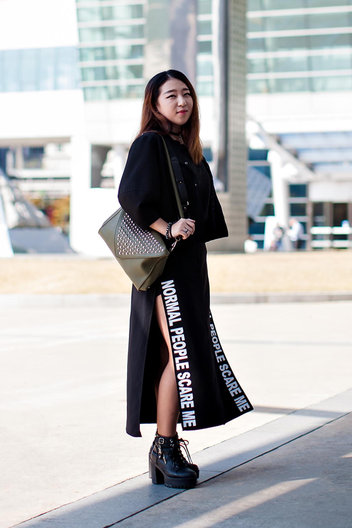 On the street… Gi Hyerin Busan