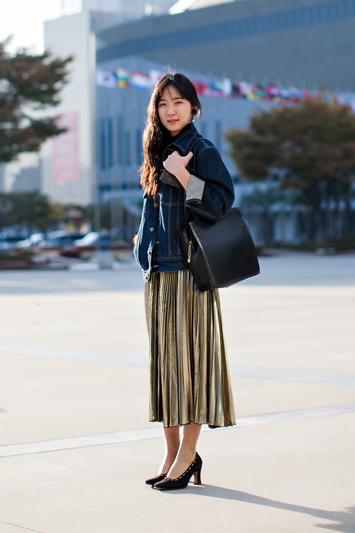 On the street… Ha Juyeon Busan