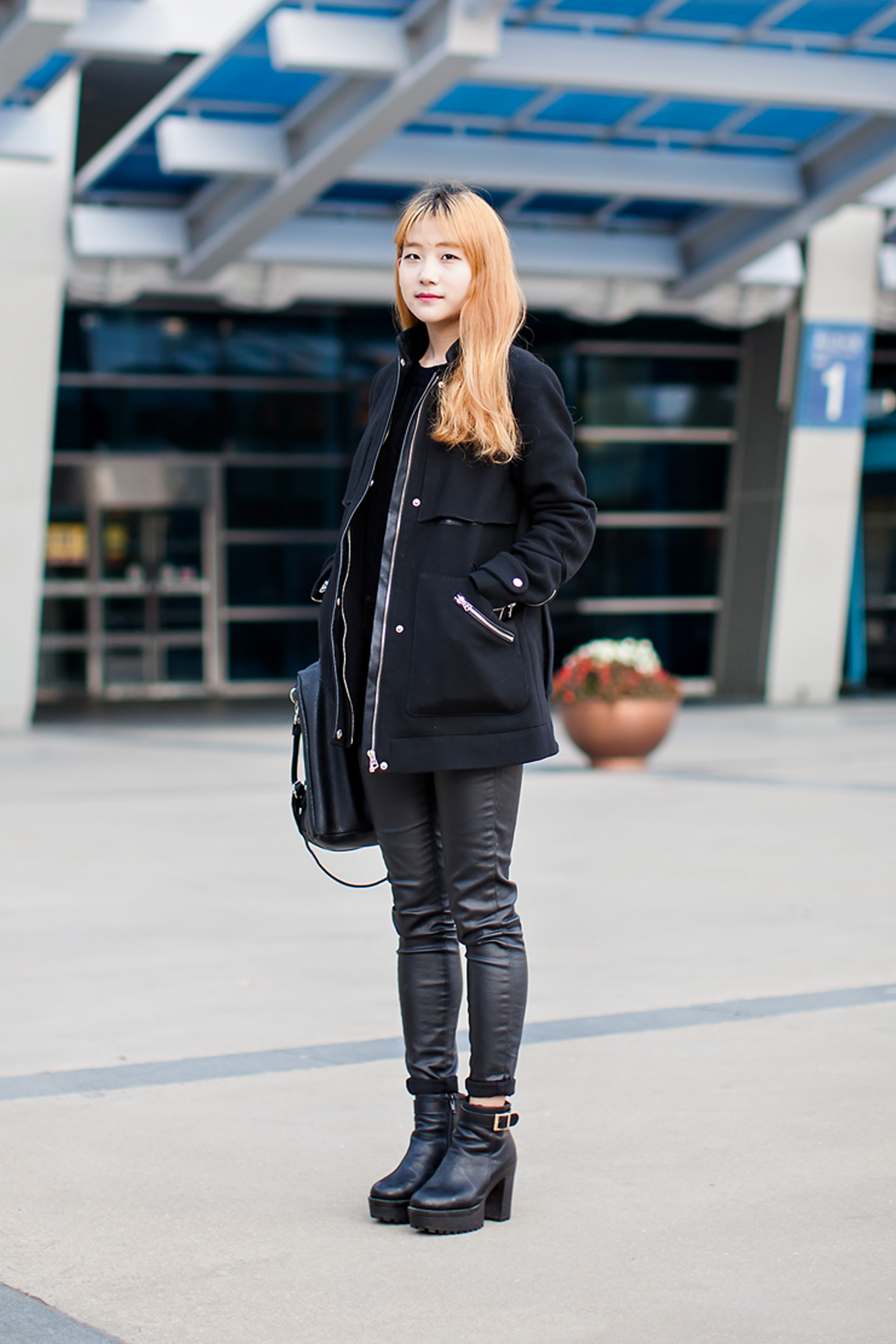 On the street… Han Soojung Busan