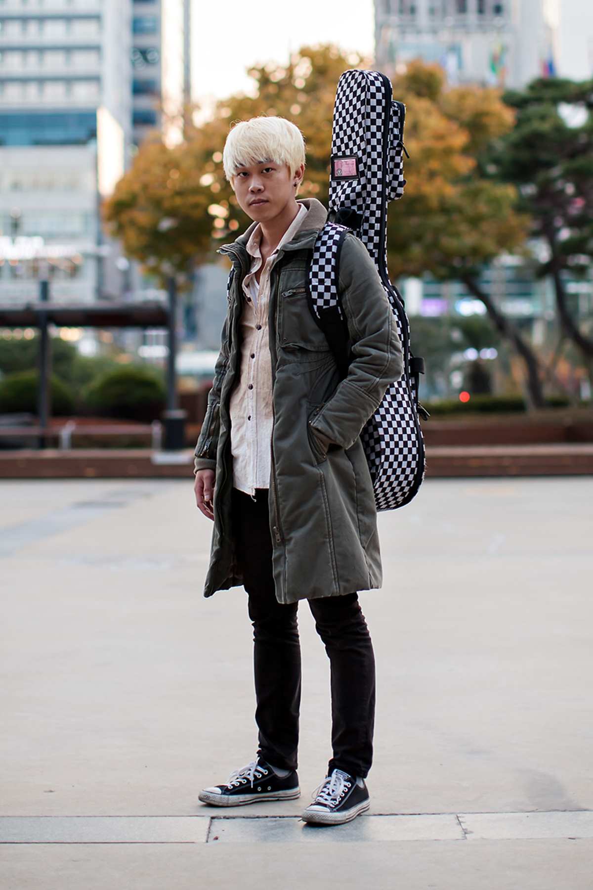 On the street… Jung Chanwoong Busan