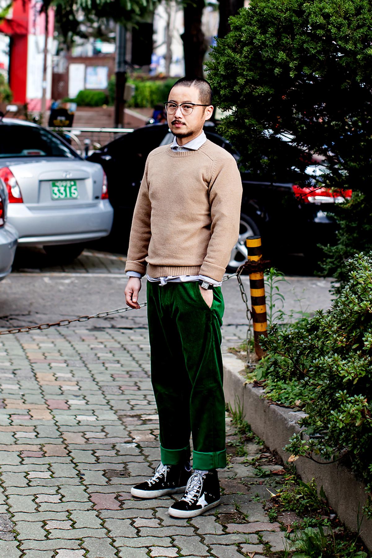 On the street… Jung Jinwook Busan