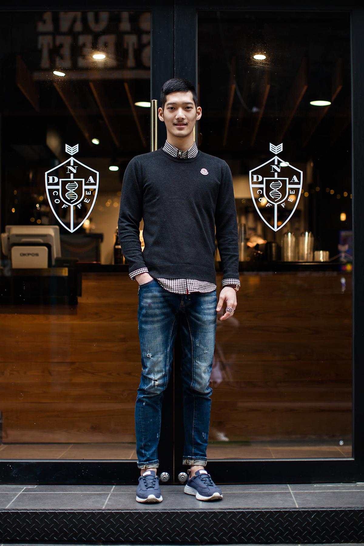 On the street… Kim Donggun Busan