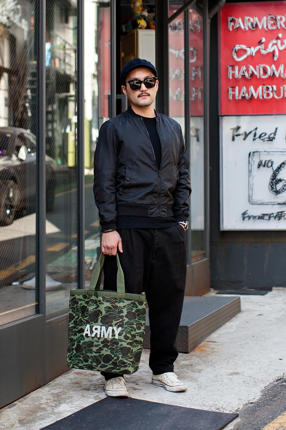 On the street… Lee Gugeun Busan
