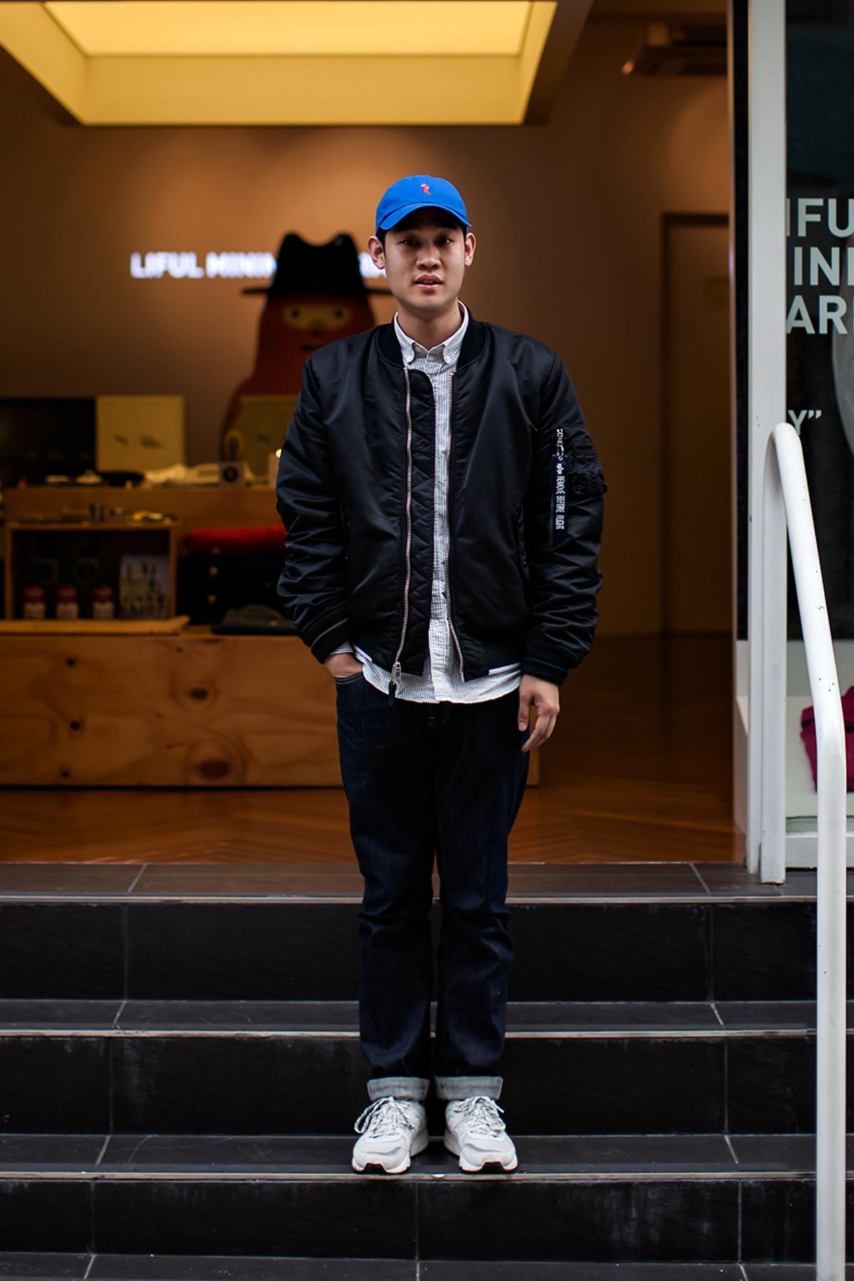 On the street… Lee Jonghye Busan