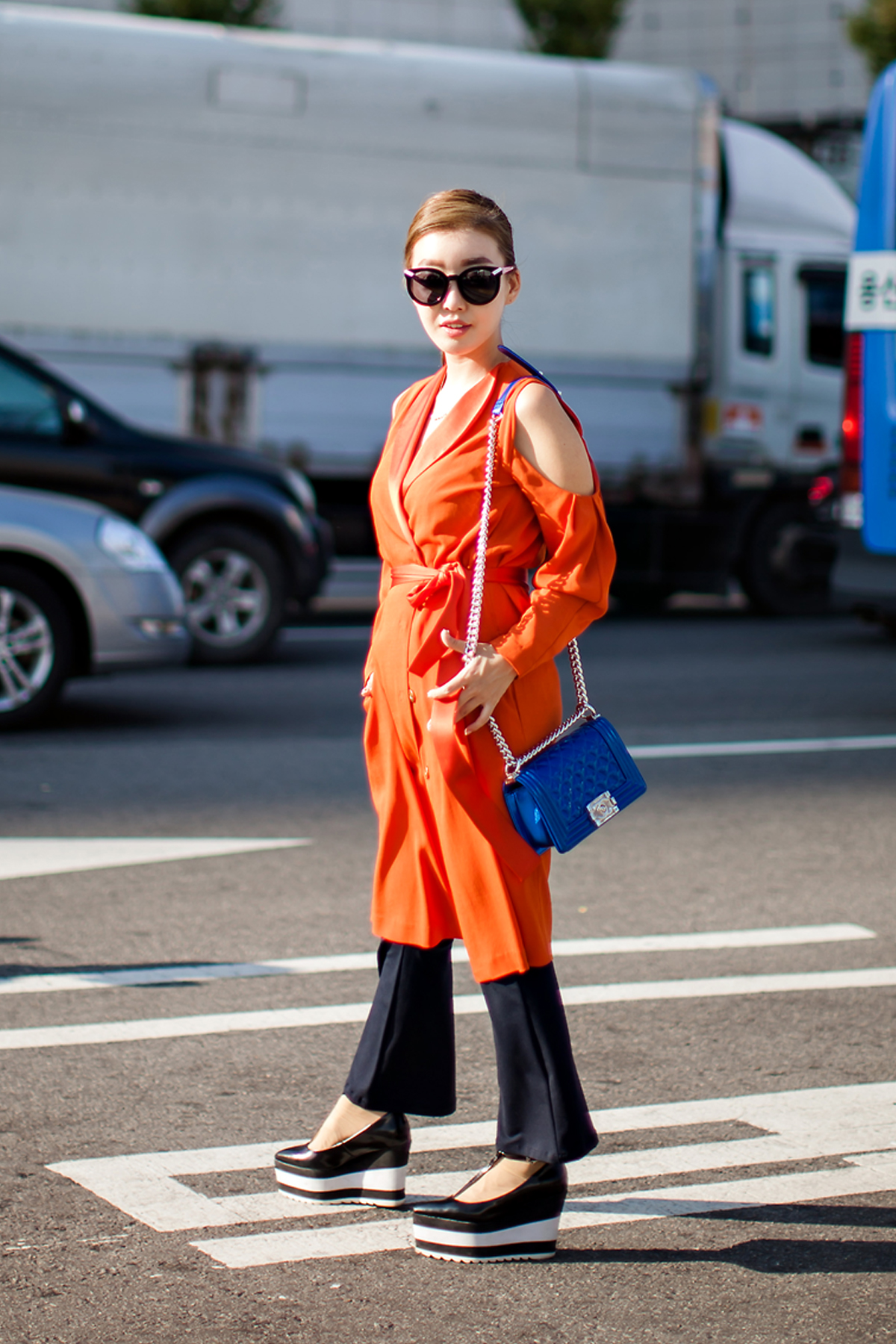 On the street… Lee Nanjung Seoul fashion week 2016 SS