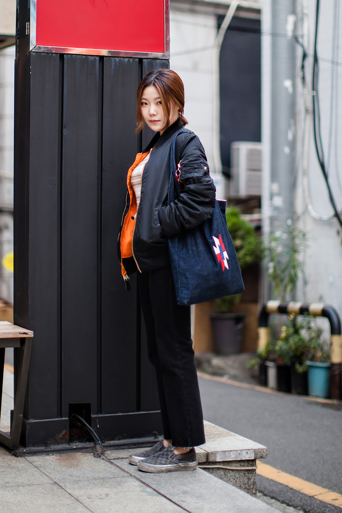 On the street… Lee Yesol Busan
