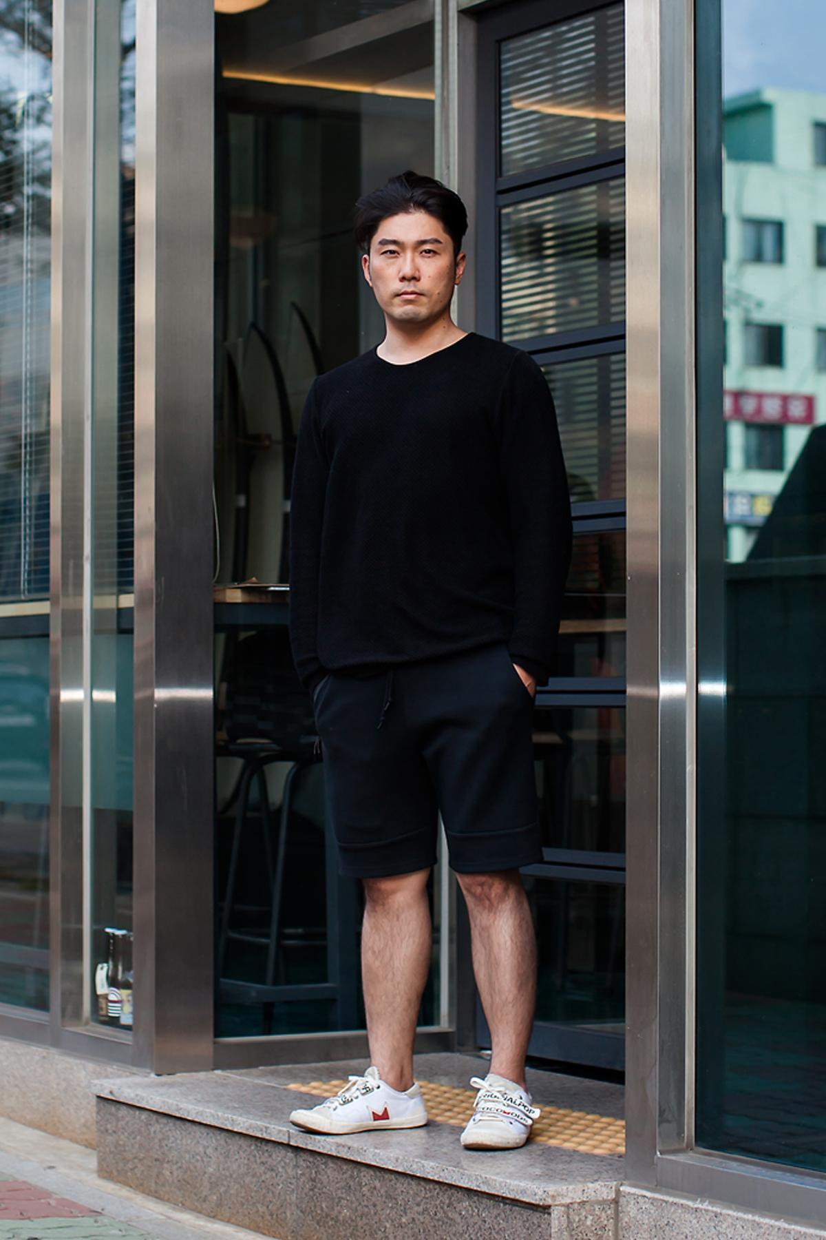 On the street… Ok Min Busan