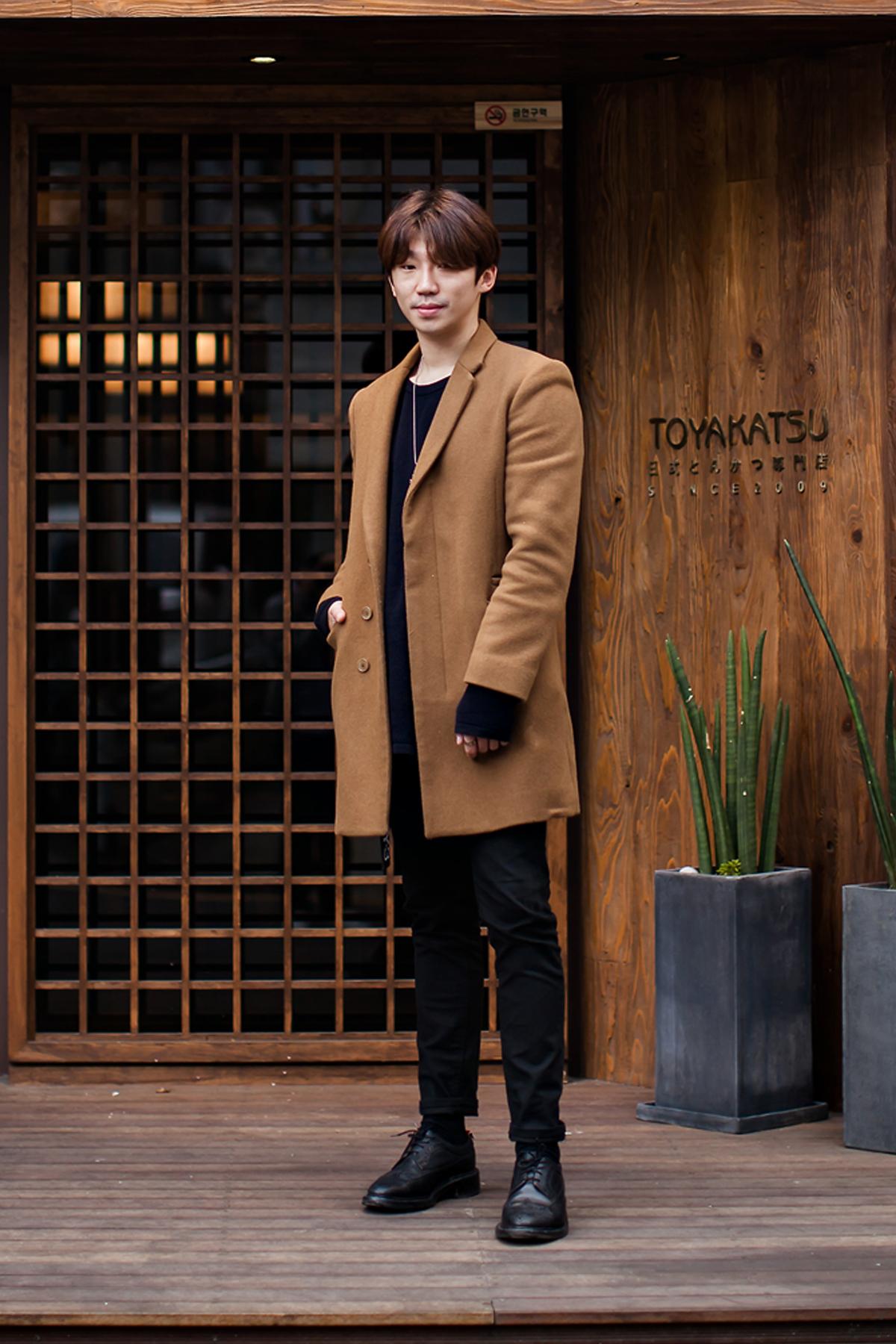 On the street… Park Hojun Busan