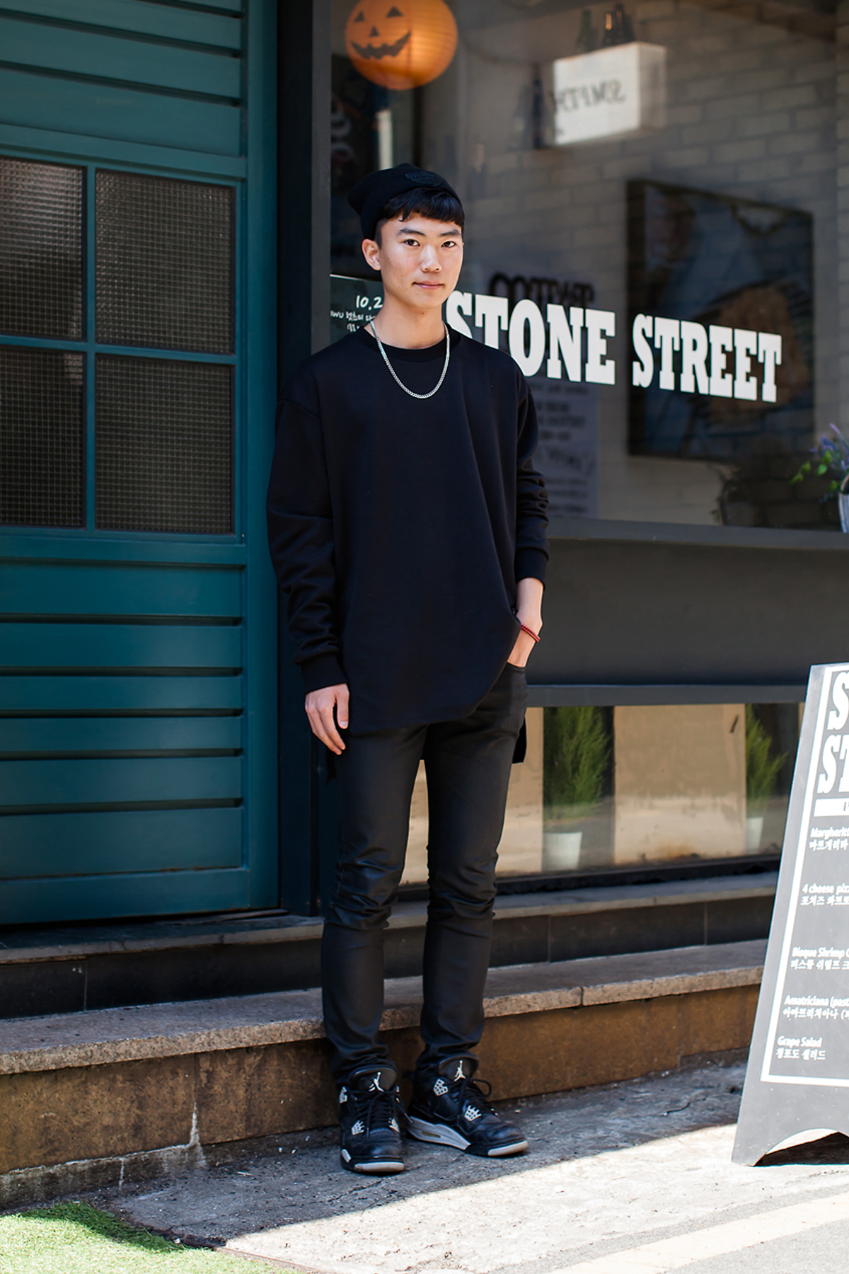 On the street… Park Jiho Busan