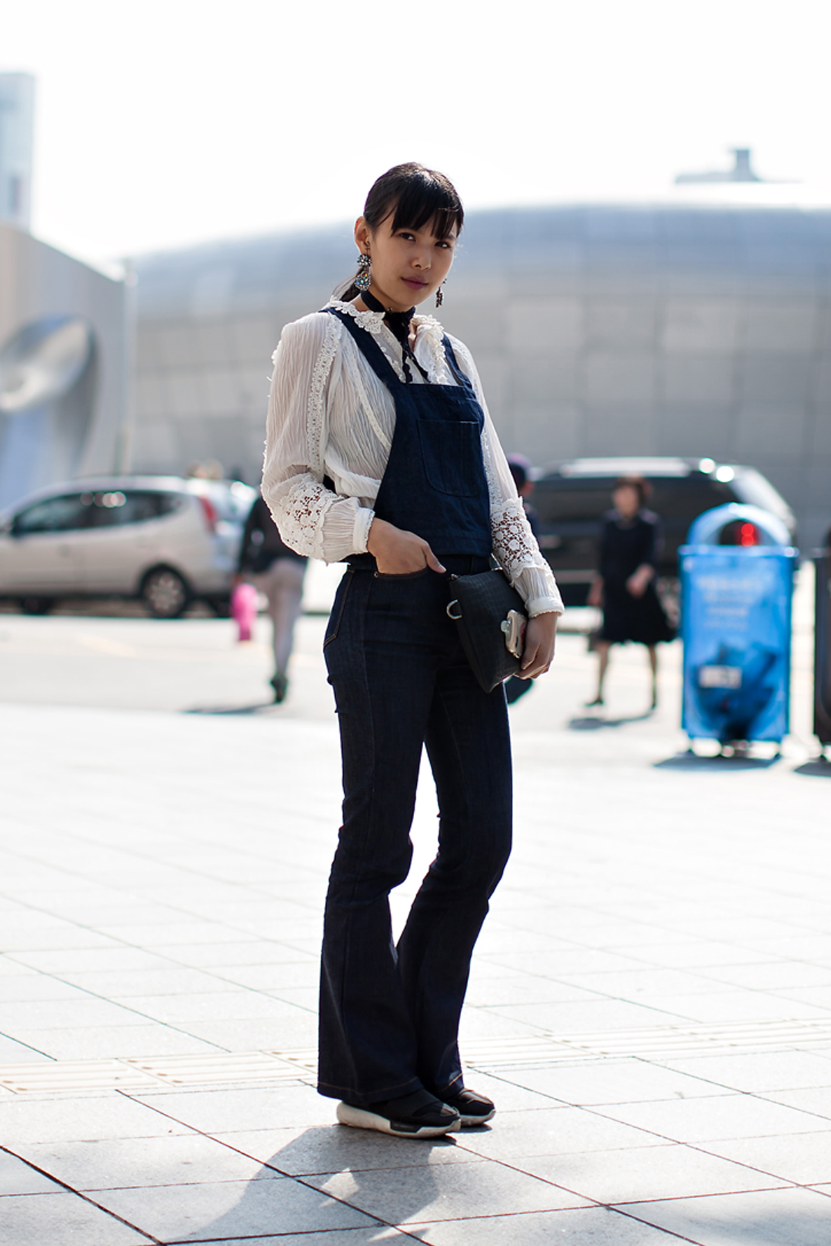 On the street… Wi Dayeon Seoul fashion week 2016 SS
