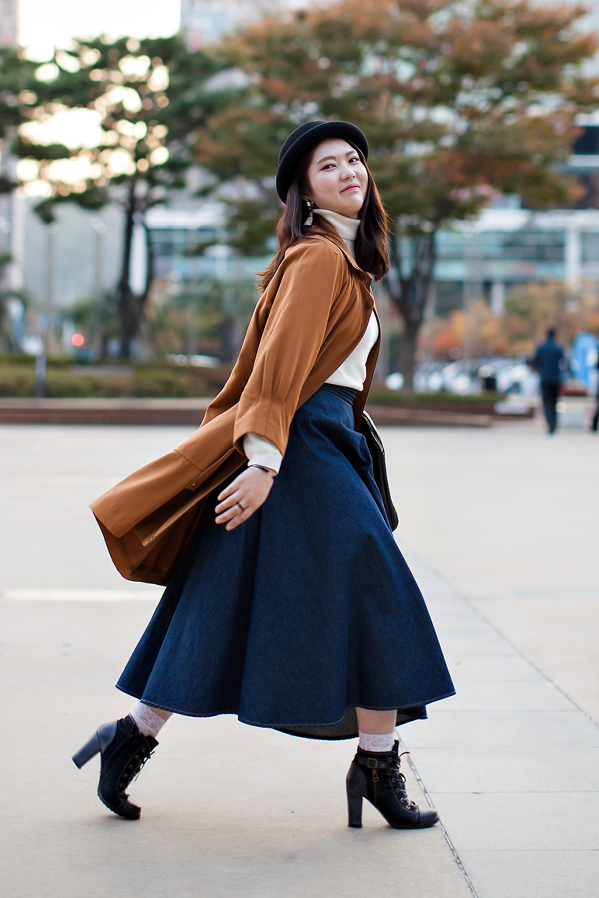 On the street… Yoon Rina Busan