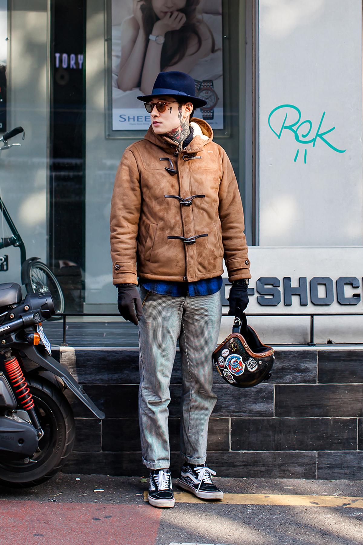 On the street… Crimer Seoul