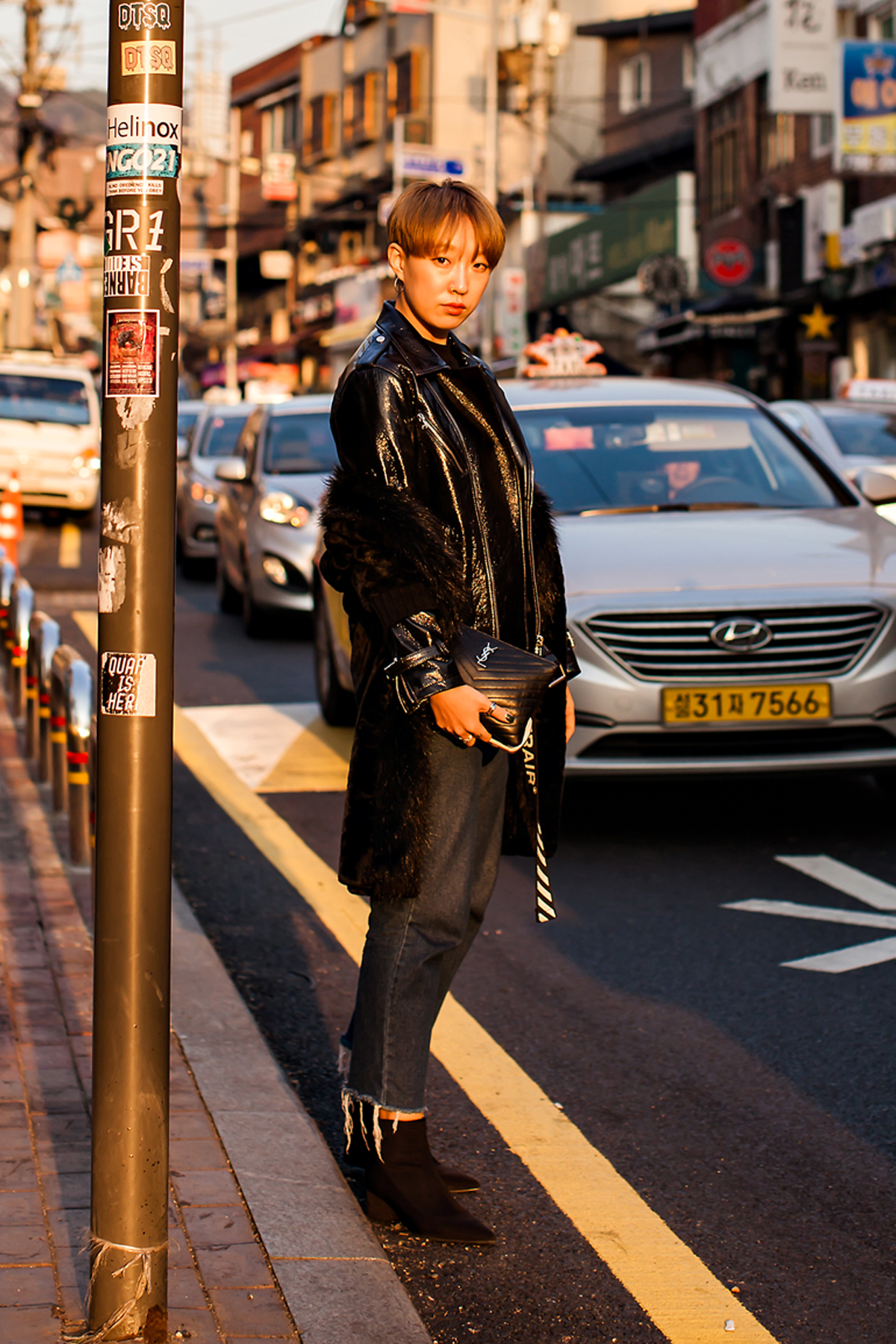 On the street… Kim Minju Seoul