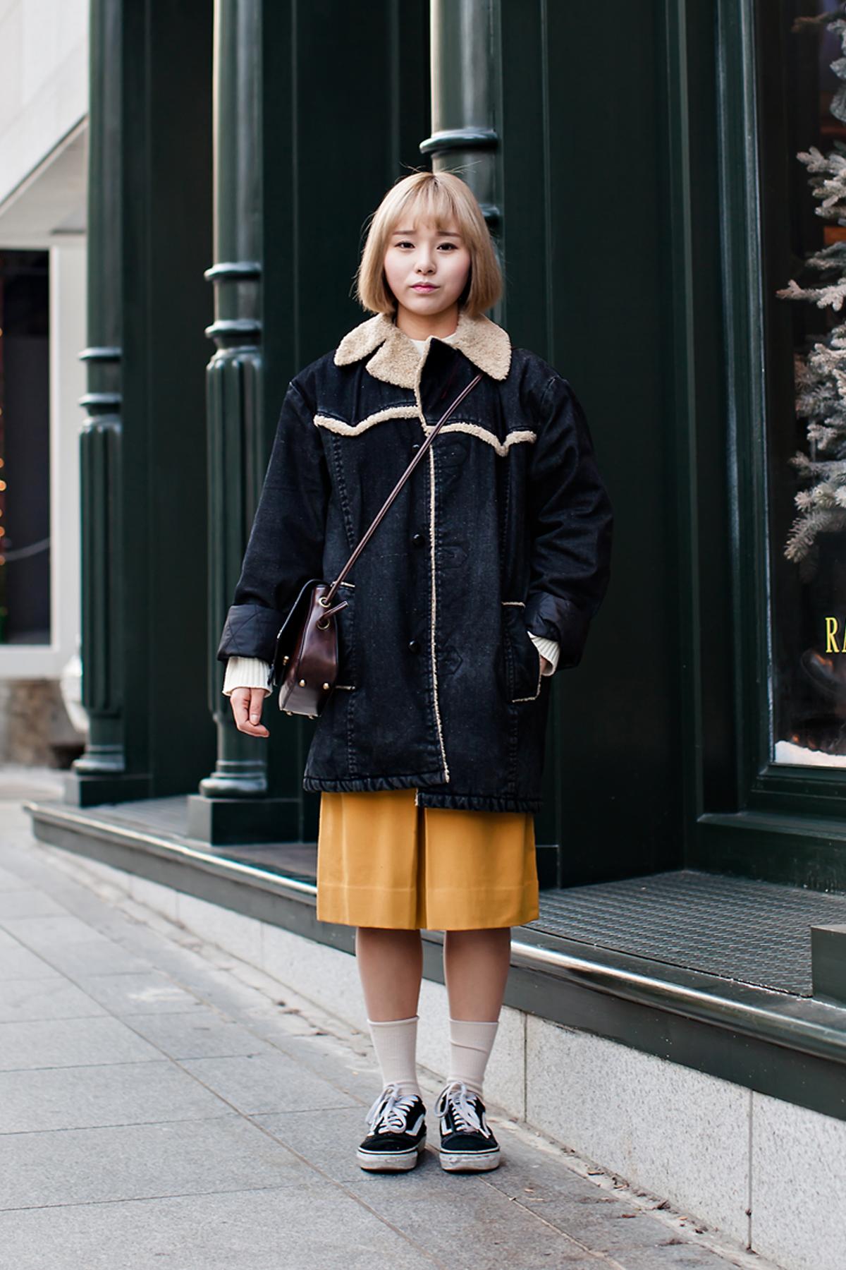 On the street… Lee Ruri Seoul