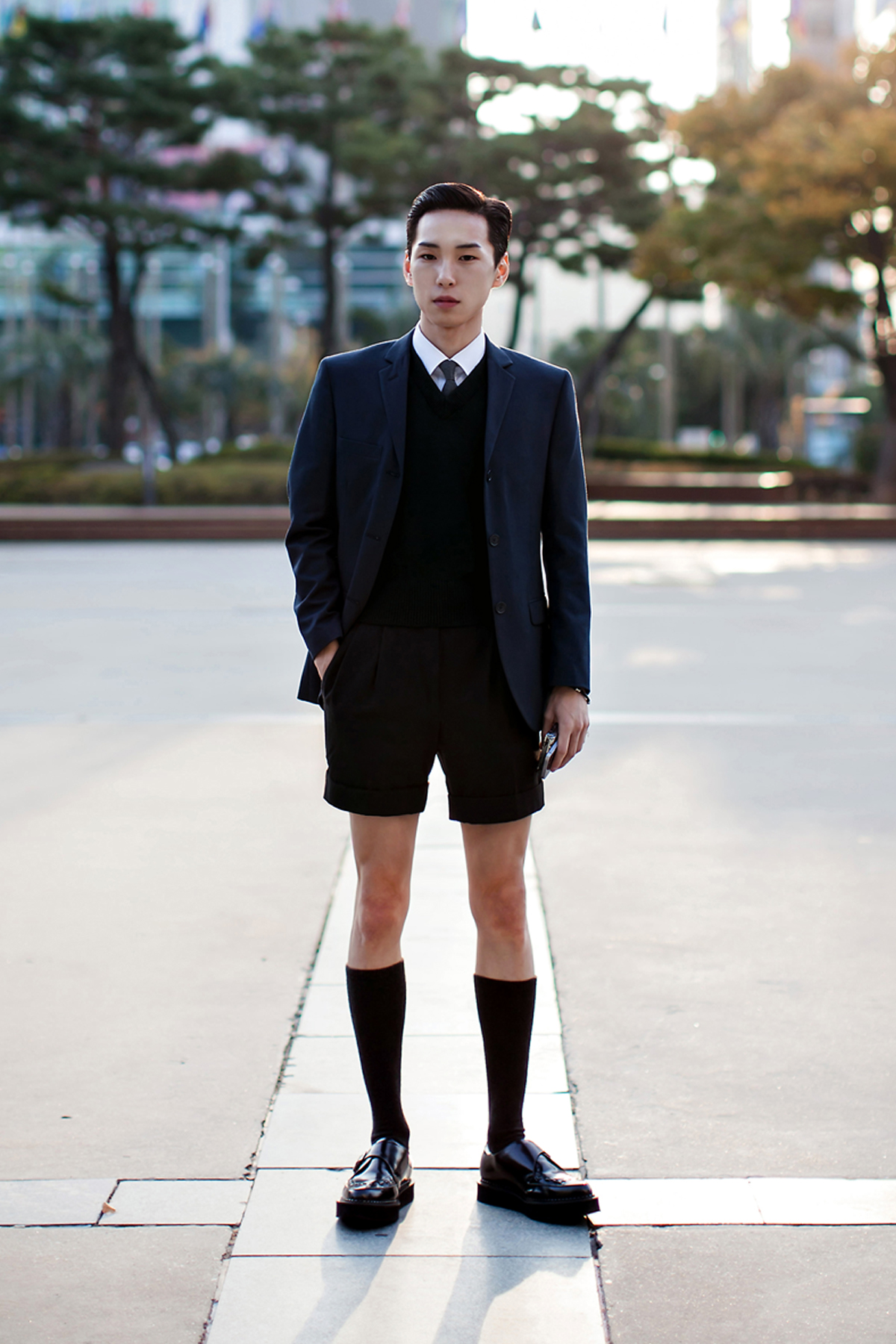 On the street… Moon Junsik Busan