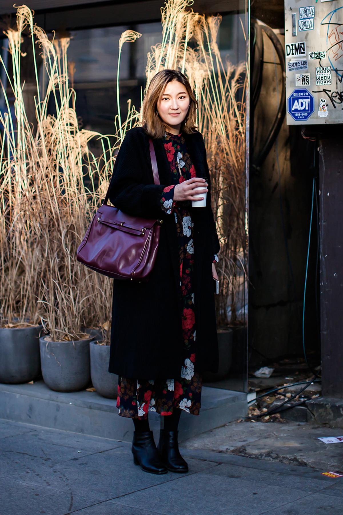 On the street… Baek Eunsun Seoul