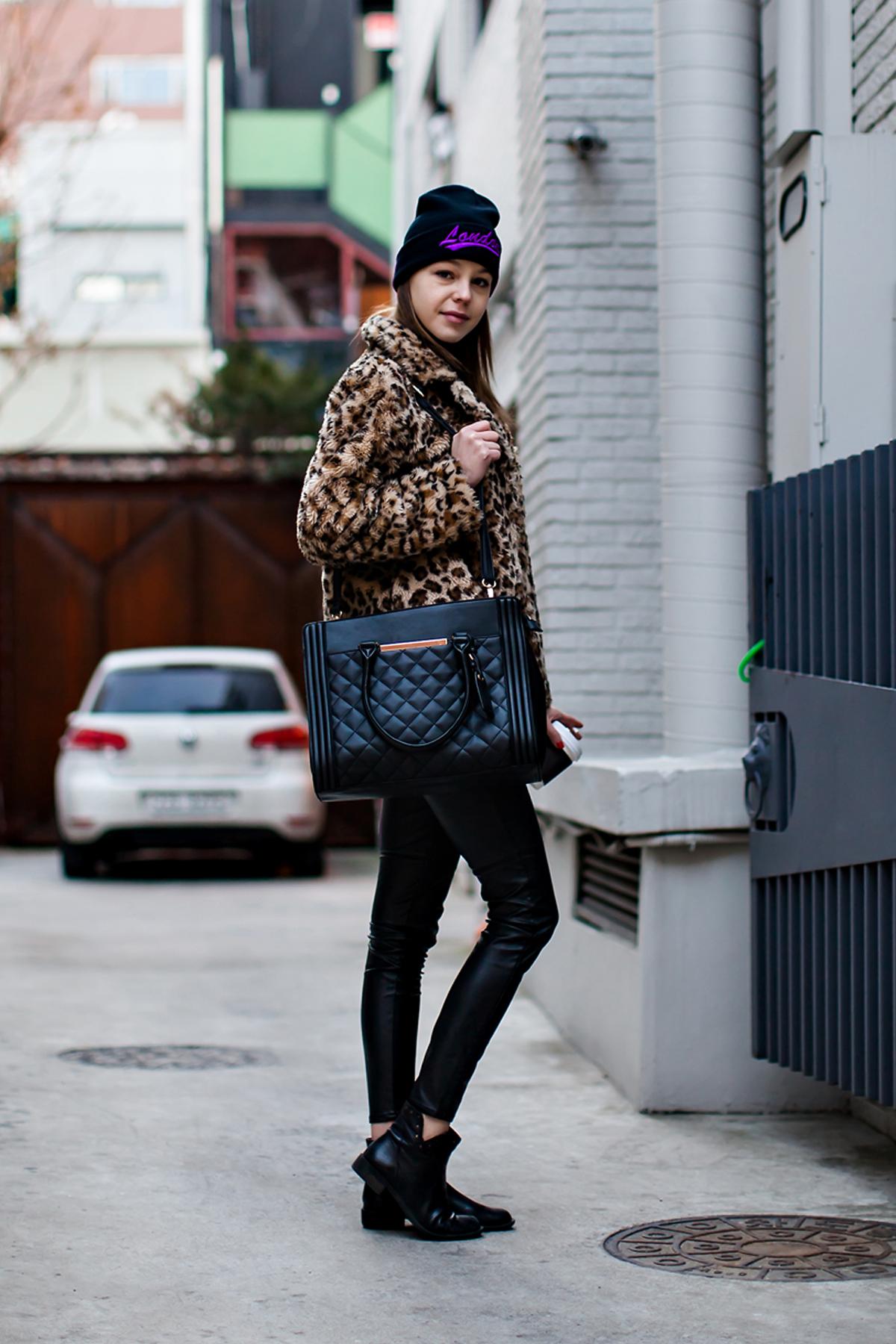 On the street… Barbara  Seoul