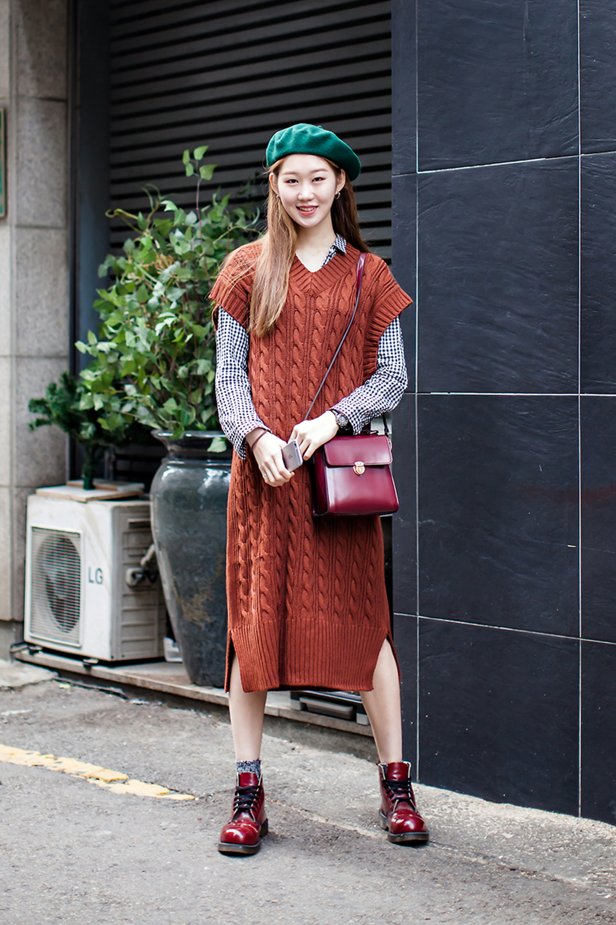 On the street… Jang Yeseung Seoul