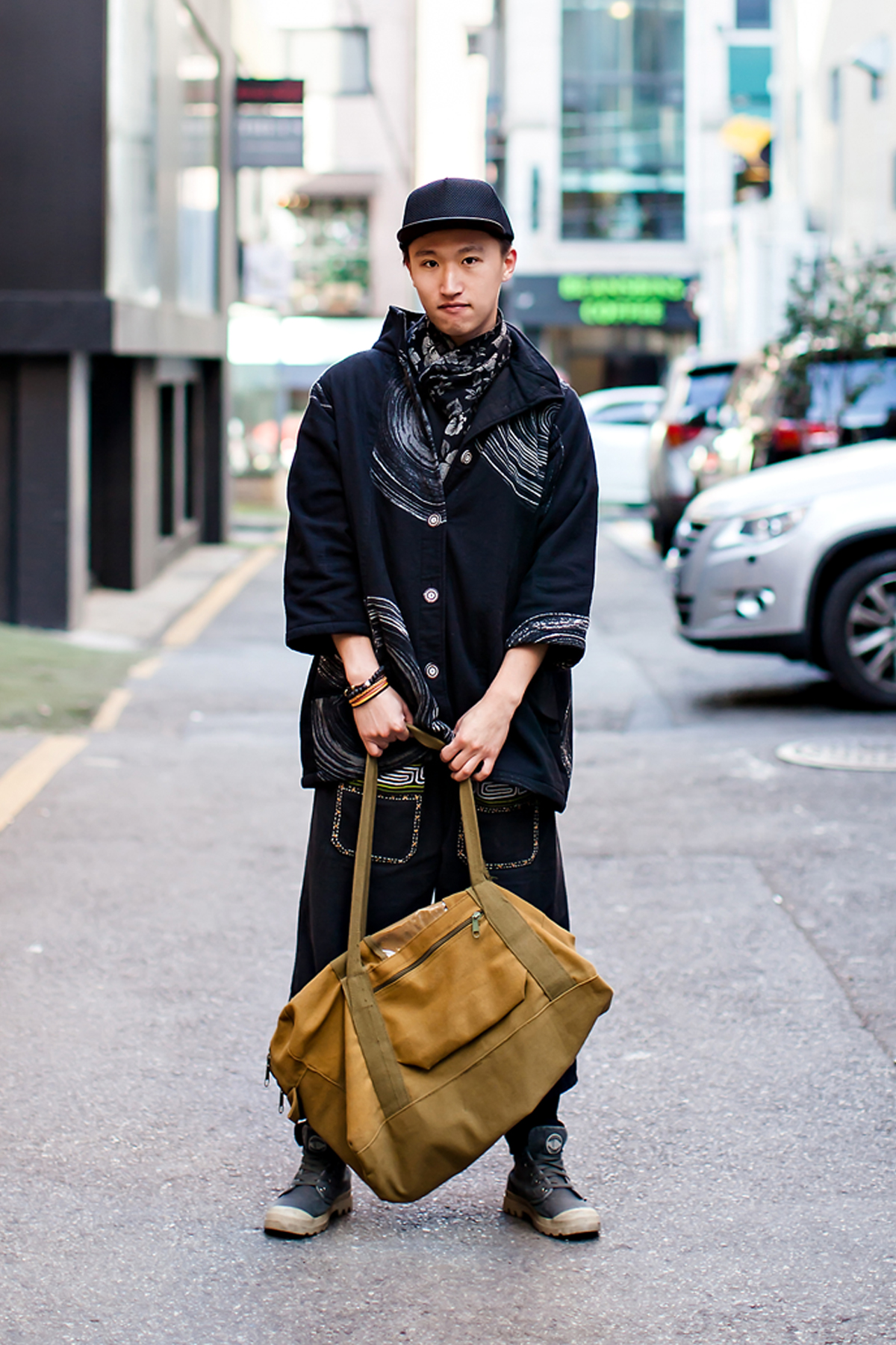 On the street… Jung Seungwoo Seoul