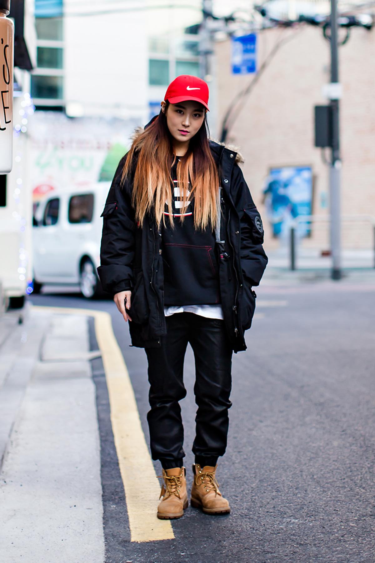 On the street… Kim Bora Seoul