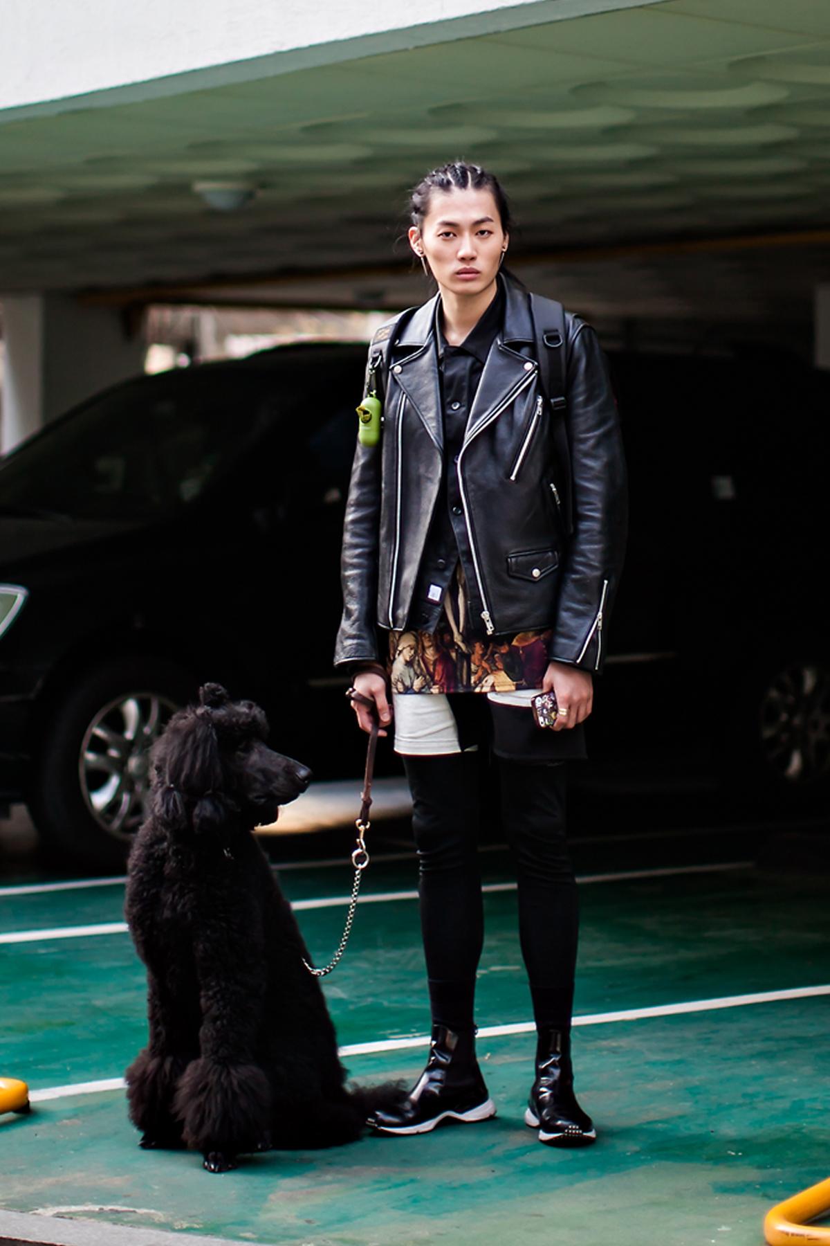 On the street… Kim Sungchan Seoul