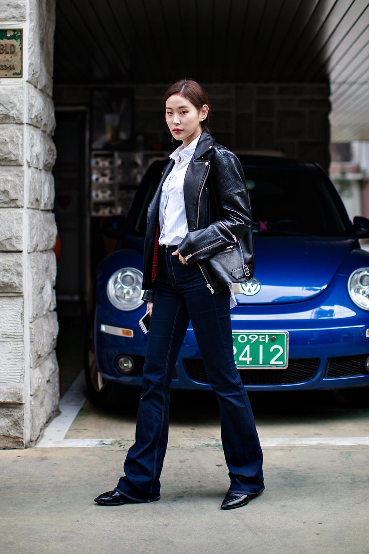 On the street… Park Hyejin Seoul
