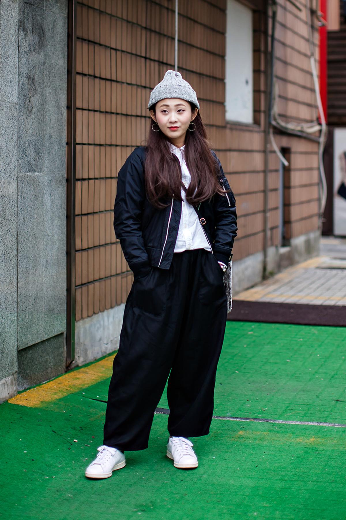 On the street… SAKI Seoul