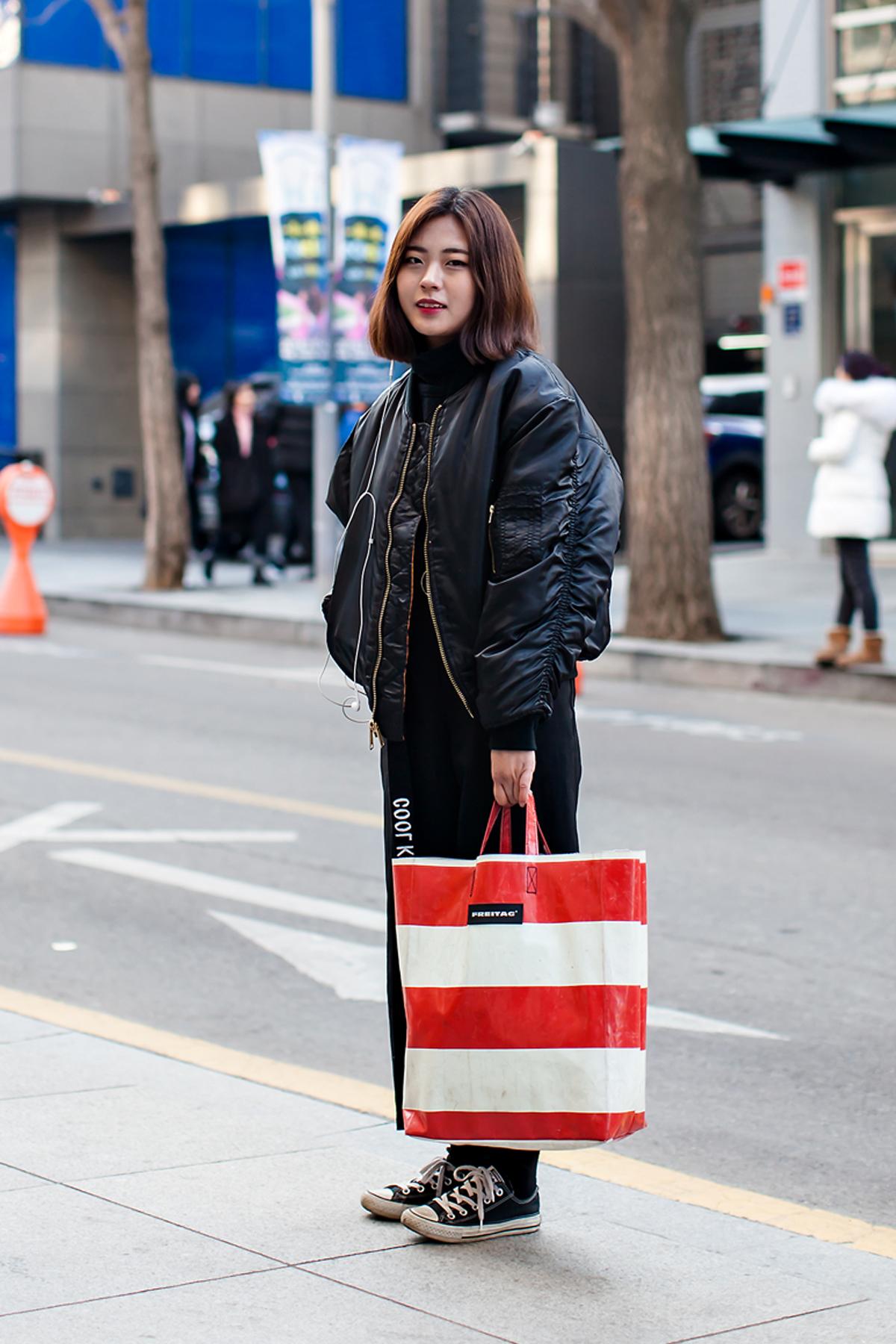 On the street… Song Eunju Seoul