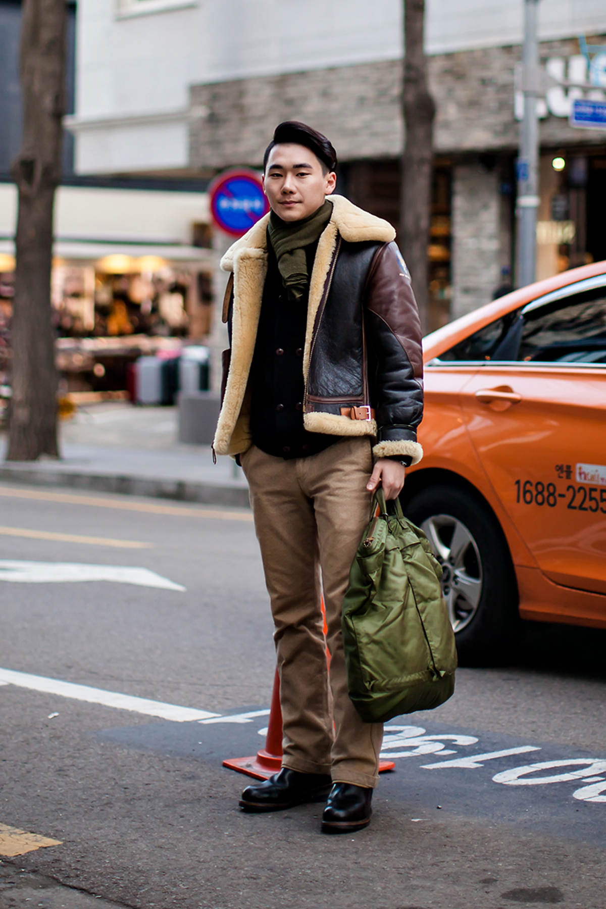 On the street… Yoo Youngseok Seoul
