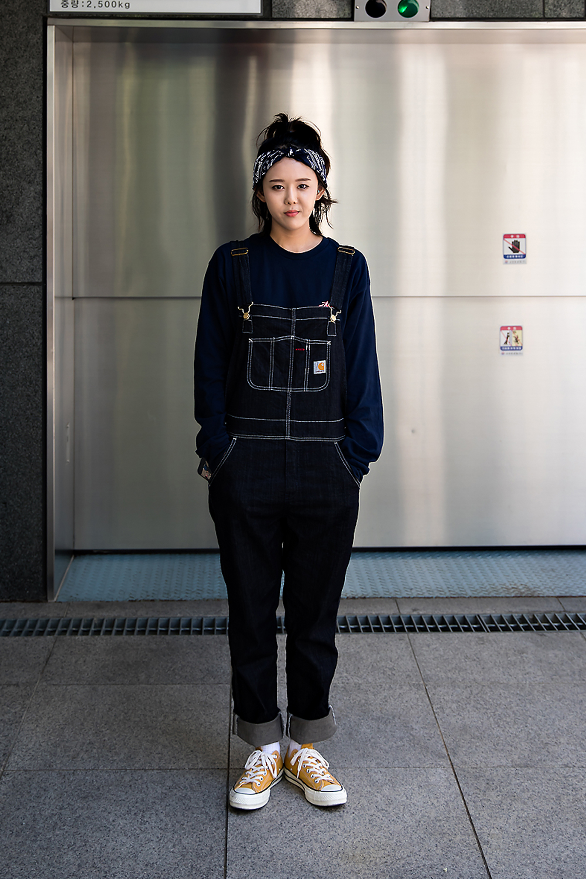 Cha Jihyun, Street Fashion 2017 in Seoul