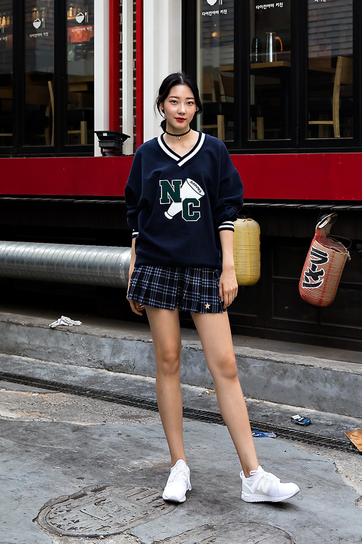 An Yewon, Street Fashion 2017 in Seoul