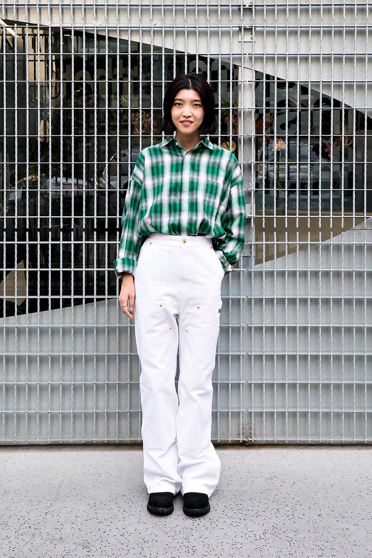 Im Chaehyun, Street Fashion 2017 in Seoul.jpg