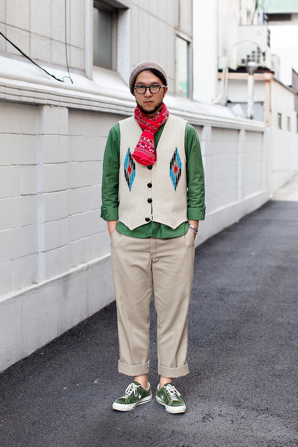 Kim Taejong, Street Fashion 2017 in Seoul