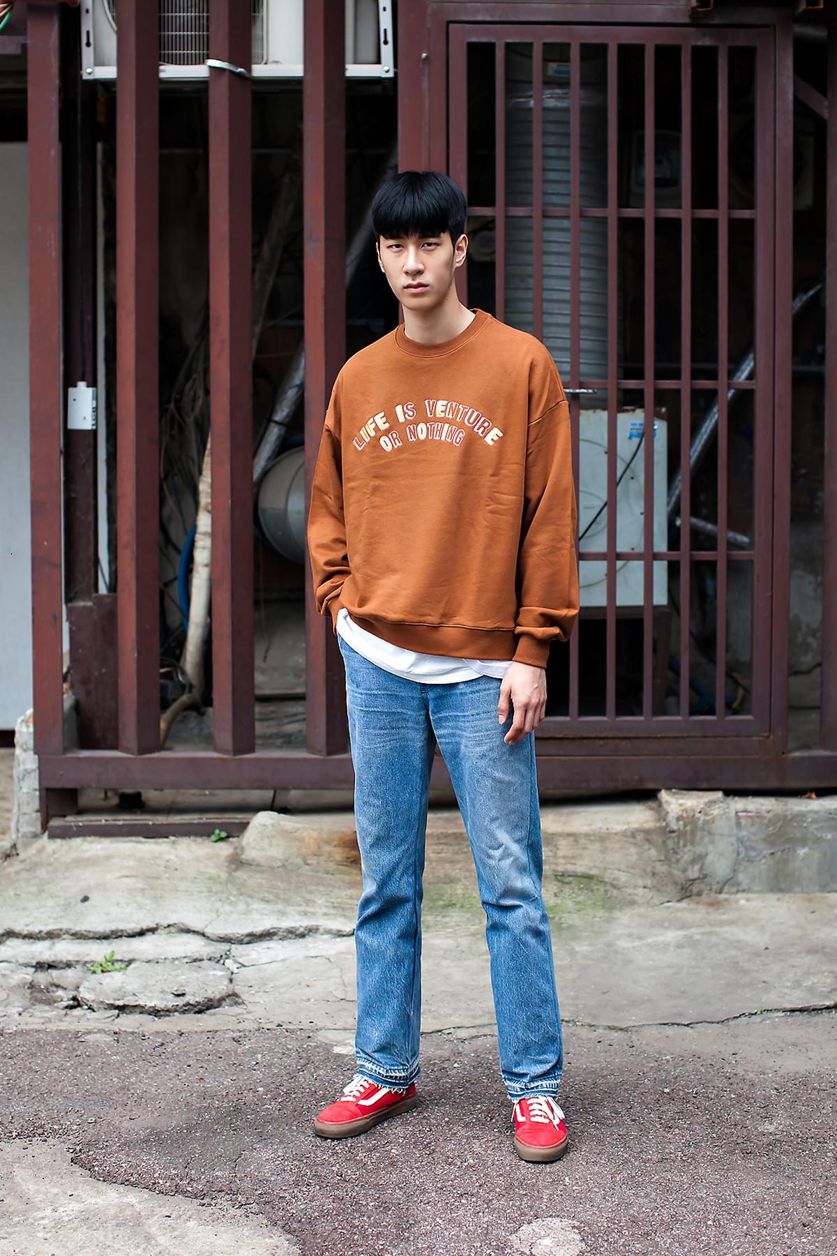 Ok Hyunwoo, Street Fashion 2017 in Seoul