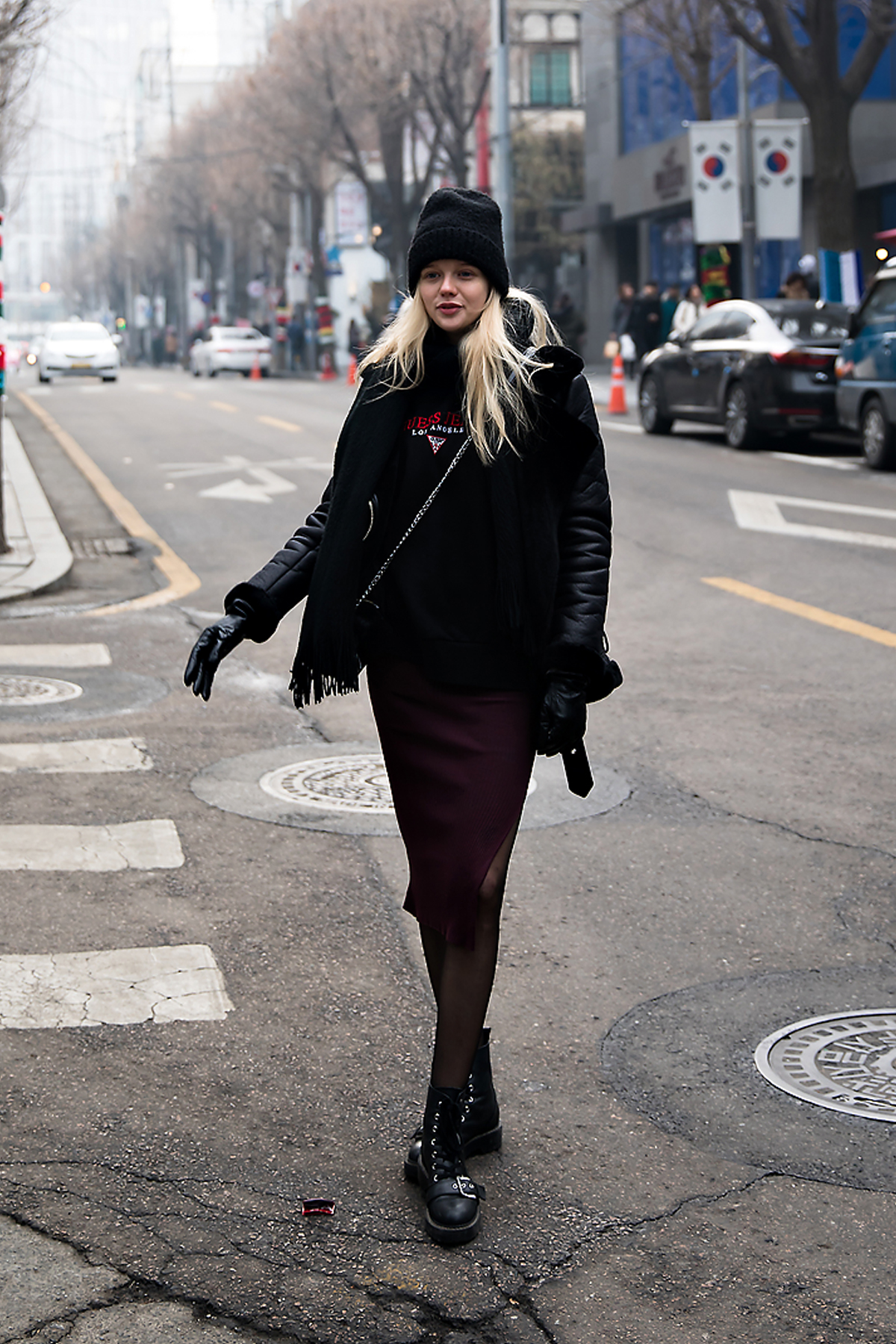 Alex O alexolb, Street style women winter 2017-2018 in seoul